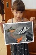 Clasa 6 8 ani Pictura Tempera Rata Olivia. 125x187 Rezultate de exceptie la cursurile de pictura si desen