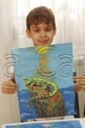 Clasa 6 8 ani Pictura Tempera Soparla Ewan. 125x187 Rezultate de exceptie la cursurile de pictura si desen