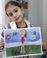 Clasa 6 8 ani Pictura Tempera Vacanta Ioana. 153x187 Rezultate de exceptie la cursurile de pictura si desen
