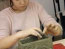 Clasa 8 10 ani Modelaj Lut Suport de Bijuterii Alexandra. 130x98 Rezultate de exceptie la cursurile de modelaj