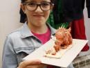 Clasa 8 10 ani Modelaj Pasta Ceramica Dinozaur Fidan. 130x98 Rezultate de exceptie la cursurile de modelaj
