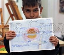 Clasa 8 10 ani Pictura Tempera Cer Victor. 218x187 Rezultate de exceptie la cursurile de pictura si desen