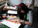 Grup Meditatii 2012 Clasa a 9 a Proba Culoare Compozitie Cu Personaje P2 130x98 Rezultate admitere la Liceul de Arte Plastice
