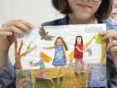 Grup Meditatii 2014 Clasa a 5 a Proba Culoare Compozitie Cu Personaje Fidan 130x98 Rezultate admitere la Liceul de Arte Plastice