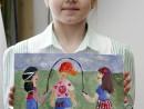Grup Meditatii 2014 Clasa a 5 a Proba Culoare Compozitie Cu Personaje Liana 130x98 Rezultate admitere la Liceul de Arte Plastice