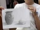 Grup Meditatii 2014 Clasa a 5 a Proba Desen Natura Statica Cu Ulcior Fruct Fidan 130x98 Rezultate admitere la Liceul de Arte Plastice