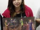 Grup Meditatii 2014 Clasa a 9 a Proba Culoare Compozitie Cu Personaje Bianca 130x98 Rezultate admitere la Liceul de Arte Plastice
