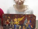 Grup Meditatii 2014 Clasa a 9 a Proba Culoare Compozitie Cu Personaje Irisz 130x98 Rezultate admitere la Liceul de Arte Plastice