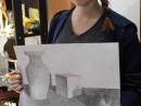 Grup Meditatii 2014 Clasa a 9 a Proba Desen Natura Statica Cu Ulcior Cub LegumaDelia 130x98 Rezultate admitere la Liceul de Arte Plastice