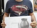 Grup Meditatii 2014 Clasa a 9 a Proba Desen Natura Statica Cu UlciorCub Leguma Robert 130x98 Rezultate admitere la Liceul de Arte Plastice