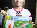 Scoala de vara Modelaj plastilina Ilustratie de carte Dariana 2 130x98 Scoala de Vara, 2016   Galerie Foto