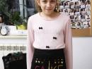 Atelier Design Vestimentar Broderie Briosa pe sort Teuta 130x98 Atelier design vestimentar, Copii 8 18 ani
