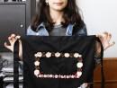 Atelier Design Vestimentar Broderie briosa pe sort Viviana 130x98 Atelier design vestimentar, Copii 8 18 ani