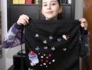 Atelier Design Vestimentar Broderie brosa pe sort Ioana 130x98 Atelier design vestimentar, Copii 8 18 ani