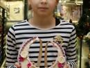 Atelier Design Vestimentar Colier Guler Obiect cusut si Decorat Ioana 130x98 Atelier design vestimentar, Copii 8 18 ani
