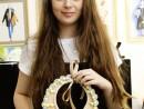 Atelier Design Vestimentar Colier cusut cu margele Ana Maria 130x98 Atelier design vestimentar, Copii 8 18 ani