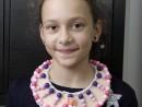 Atelier Design Vestimentar Colier cusut cu margele Eva 130x98 Atelier design vestimentar, Copii 8 18 ani