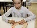 Atelier Design Vestimentar Colier cusut cu margele Marusia 130x98 Atelier design vestimentar, Copii 8 18 ani