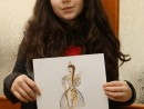 Atelier Design Vestimentar Costumul in Baroc Acuarela si Creioane Acuarelabile Ana Maria 130x98 Atelier design vestimentar, Copii 8 18 ani