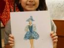 Atelier Design Vestimentar Costumul in Baroc Acuarela si Creioane Acuarelabile Ruxandra 130x98 Atelier design vestimentar, Copii 8 18 ani