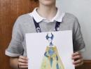 Atelier Design Vestimentar Costumul in Evul Mediu Gotic Ana 130x98 Atelier design vestimentar, Copii 8 18 ani
