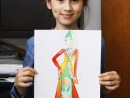 Atelier Design Vestimentar Costumul in Evul Mediu Gotic Ioana 130x98 Atelier design vestimentar, Copii 8 18 ani
