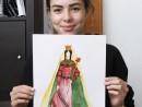 Atelier Design Vestimentar Costumul in Evul Mediu Gotic Katia 130x98 Atelier design vestimentar, Copii 8 18 ani
