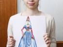 Atelier Design Vestimentar Costumul in Evul Mediu Gotic Maria 130x98 Atelier design vestimentar, Copii 8 18 ani