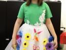 Atelier Design Vestimentar Creatie Fusta Tulle Stefania 130x98 Atelier design vestimentar, Copii 8 18 ani