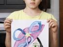 Atelier Design Vestimentar Creatie palarie Luiza 130x98 Atelier design vestimentar, Copii 8 18 ani
