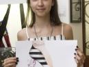 Atelier Design Vestimentar Creatie pantofi Haute Couture in pastel cretat Taisia 130x98 Atelier design vestimentar, Copii 8 18 ani