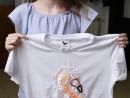 Atelier Design Vestimentar Creatie tricou cu flamingo Jessica 130x98 Atelier design vestimentar, Copii 8 18 ani