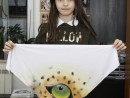 Atelier Design Vestimentar Esarfa animal print Anastasia 130x98 Atelier design vestimentar, Copii 8 18 ani
