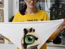 Atelier Design Vestimentar Esarfa animal print Ilinca 130x98 Atelier design vestimentar, Copii 8 18 ani