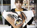 Atelier Design Vestimentar Esarfa animal print Mara1 130x98 Atelier design vestimentar, Copii 8 18 ani