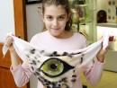 Atelier Design Vestimentar Esarfa animal print Teuta 130x98 Atelier design vestimentar, Copii 8 18 ani