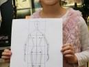 Atelier Design Vestimentar Geometrizare Corp Uman Eva 130x98 Atelier design vestimentar, Copii 8 18 ani