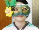 Atelier Design Vestimentar Masca stilul elegant Maria 130x98 Atelier design vestimentar, Copii 8 18 ani