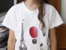 Atelier Design Vestimentar Pictura pe tricou Calatoria Antonia 130x98 Atelier design vestimentar, Copii 8 18 ani
