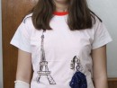 Atelier Design Vestimentar Pictura pe tricou Calatoria Ilinca2 130x98 Atelier design vestimentar, Copii 8 18 ani