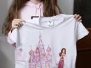 Atelier Design Vestimentar Pictura pe tricou Calatoria Jessica 130x98 Atelier design vestimentar, Copii 8 18 ani