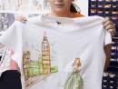 Atelier Design Vestimentar Pictura pe tricou Calatoria Stefania 130x98 Atelier design vestimentar, Copii 8 18 ani