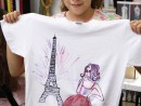 Atelier Design Vestimentar Pictura pe tricou Calatoria Teuta 130x98 Atelier design vestimentar, Copii 8 18 ani