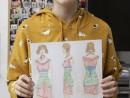 Atelier Design Vestimentar Reinterpretare tinuta istorica Ana 130x98 Atelier design vestimentar, Copii 8 18 ani