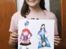 Atelier Design Vestimentar Stilul traditional Daria 130x98 Atelier design vestimentar, Copii 8 18 ani