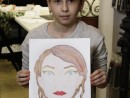 Atelier Design Vestimentar Studiu cap feminin Ioana 130x98 Atelier design vestimentar, Copii 8 18 ani