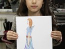 Atelier Design Vestimentar Tinuta inspirata dintr un animal Smaranda 130x98 Atelier design vestimentar, Copii 8 18 ani