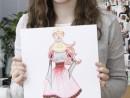 Atelier Design Vestimentar Tinuta pentru carnaval Maria 130x98 Atelier design vestimentar, Copii 8 18 ani
