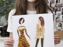 Atelier Design Vestimentar Trend animal print Antonia 130x98 Atelier design vestimentar, Copii 8 18 ani