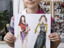 Atelier Design Vestimentar Trend animal print Ioana 130x98 Atelier design vestimentar, Copii 8 18 ani
